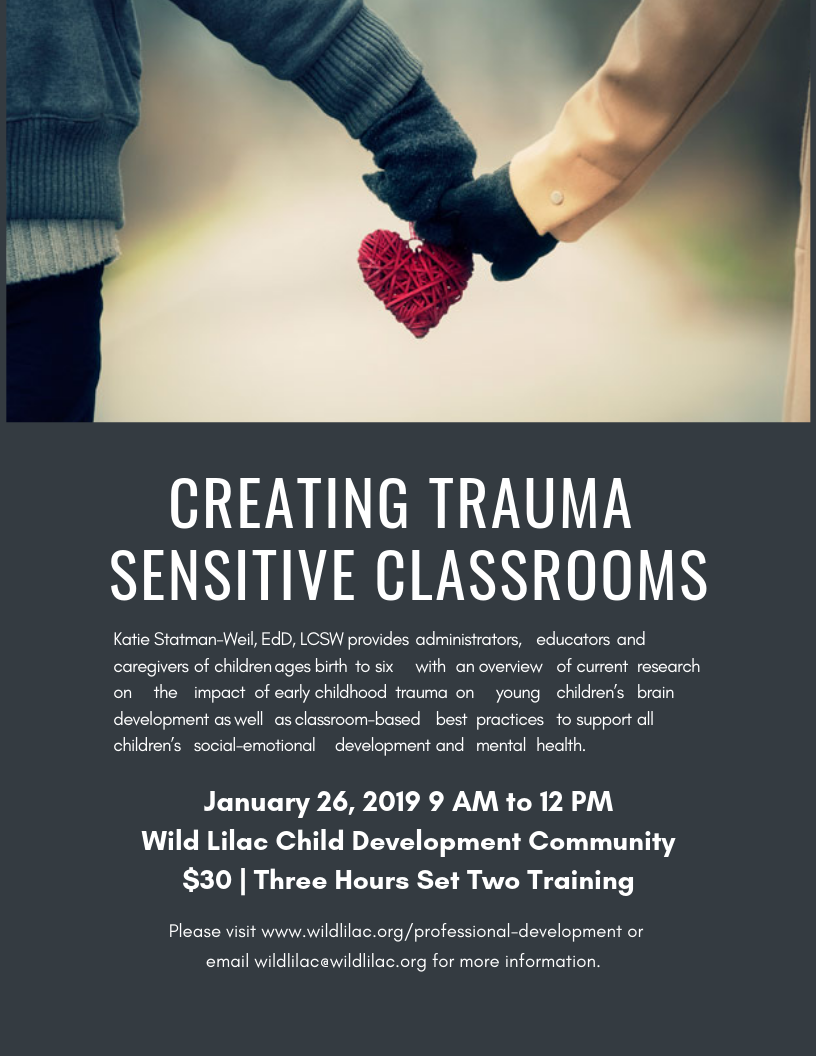 Creating Trauma sensitive classrooms